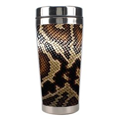 Snake Skin Olay Stainless Steel Travel Tumblers by BangZart