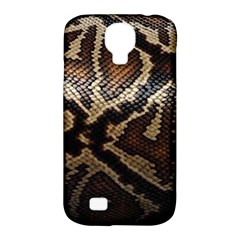 Snake Skin Olay Samsung Galaxy S4 Classic Hardshell Case (pc+silicone) by BangZart