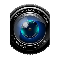 Camera Lens Prime Photography 5 5  X 8 5  Notebooks by BangZart