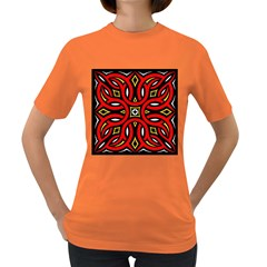Traditional Art Pattern Women s Dark T Shirt by BangZart
