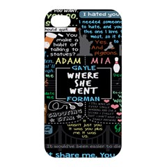 Book Quote Collage Apple Iphone 4/4s Hardshell Case by BangZart