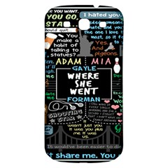 Book Quote Collage Samsung Galaxy S3 S Iii Classic Hardshell Back Case by BangZart