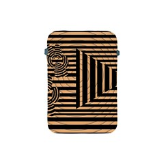 Wooden Pause Play Paws Abstract Oparton Line Roulette Spin Apple Ipad Mini Protective Soft Cases by BangZart
