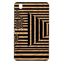 Wooden Pause Play Paws Abstract Oparton Line Roulette Spin Samsung Galaxy Tab Pro 8 4 Hardshell Case by BangZart