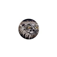 Lion Robot 1  Mini Buttons