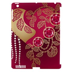 Love Heart Apple Ipad 3/4 Hardshell Case (compatible With Smart Cover) by BangZart