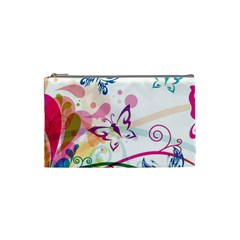 Butterfly Vector Art Cosmetic Bag (small)  by BangZart