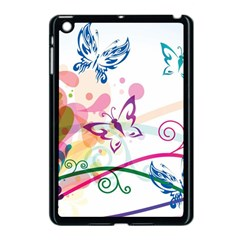 Butterfly Vector Art Apple Ipad Mini Case (black)