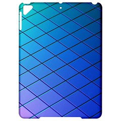 Blue Pattern Plain Cartoon Apple Ipad Pro 9 7   Hardshell Case