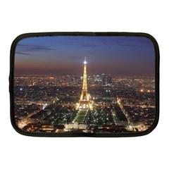 Paris At Night Netbook Case (medium)
