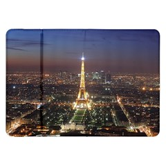 Paris At Night Samsung Galaxy Tab 8 9  P7300 Flip Case by BangZart