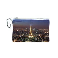 Paris At Night Canvas Cosmetic Bag (s)