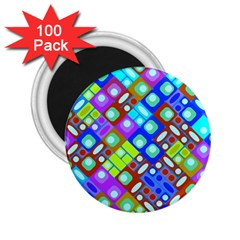Pattern Factory 32b 2 25  Magnets (100 Pack)  by MoreColorsinLife