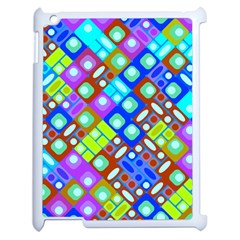 Pattern Factory 32b Apple Ipad 2 Case (white) by MoreColorsinLife