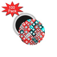 Pattern Factory 32d 1 75  Magnets (100 Pack)  by MoreColorsinLife