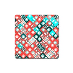 Pattern Factory 32d Square Magnet by MoreColorsinLife