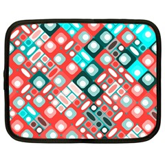 Pattern Factory 32d Netbook Case (large) by MoreColorsinLife