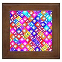 Pattern Factory 32a Framed Tiles by MoreColorsinLife
