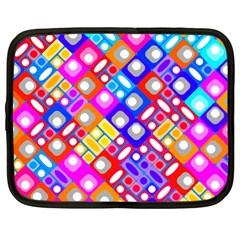 Pattern Factory 32a Netbook Case (xl)  by MoreColorsinLife