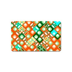 Pattern Factory 32c Magnet (name Card) by MoreColorsinLife