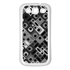 Pattern Factory 32f Samsung Galaxy S3 Back Case (white) by MoreColorsinLife