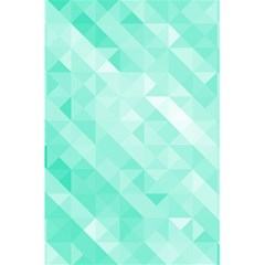 Bright Green Turquoise Geometric Background 5 5  X 8 5  Notebooks by TastefulDesigns