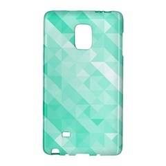 Bright Green Turquoise Geometric Background Galaxy Note Edge by TastefulDesigns