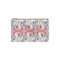 Algorithmic Abstract Shapes Cosmetic Bag (small)  by linceazul