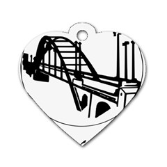 Seal Of Ahvaz Dog Tag Heart (one Side) by abbeyz71