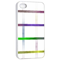 Blurred Lines Apple Iphone 4/4s Seamless Case (white) by designsbyamerianna