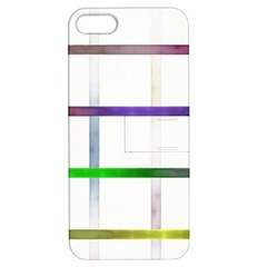 Blurred Lines Apple Iphone 5 Hardshell Case With Stand by designsbyamerianna