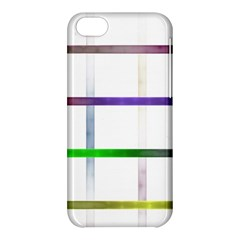 Blurred Lines Apple Iphone 5c Hardshell Case by designsbyamerianna