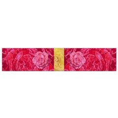 Rose And Roses And Another Rose Flano Scarf (small) by pepitasart