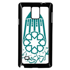 Seal Of Hamedan  Samsung Galaxy Note 4 Case (black)