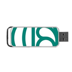 Seal Of Isfahan  Portable Usb Flash (two Sides) by abbeyz71