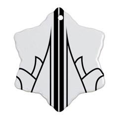 Logo Of Karaj Ornament (snowflake) by abbeyz71