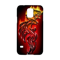 Dragon Fire Samsung Galaxy S5 Hardshell Case  by BangZart