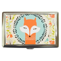 Foxy Fox Canvas Art Print Traditional Cigarette Money Cases by BangZart