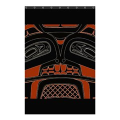 Traditional Northwest Coast Native Art Shower Curtain 48  X 72  (small)  by BangZart