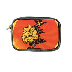 Vector Asian Flowers Coin Purse by BangZart