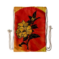 Vector Asian Flowers Drawstring Bag (small) by BangZart