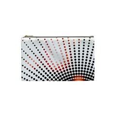 Radial Dotted Lights Cosmetic Bag (small)  by BangZart