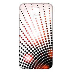 Radial Dotted Lights Samsung Galaxy S5 Back Case (white)