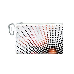 Radial Dotted Lights Canvas Cosmetic Bag (s) by BangZart