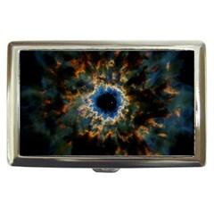 Crazy  Giant Galaxy Nebula Cigarette Money Cases by BangZart