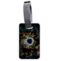 Crazy  Giant Galaxy Nebula Luggage Tags (one Side)  by BangZart