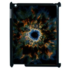 Crazy  Giant Galaxy Nebula Apple Ipad 2 Case (black) by BangZart
