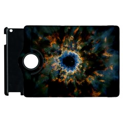 Crazy  Giant Galaxy Nebula Apple Ipad 3/4 Flip 360 Case by BangZart