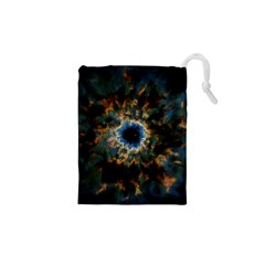 Crazy  Giant Galaxy Nebula Drawstring Pouches (xs)  by BangZart