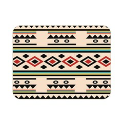 Tribal Pattern Double Sided Flano Blanket (mini)  by BangZart